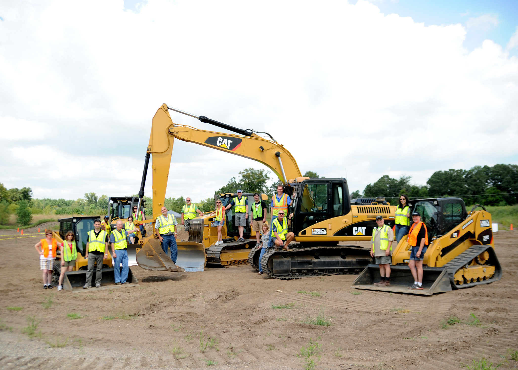 Wanna ride a bulldozer? Excavator? Hastings business can help