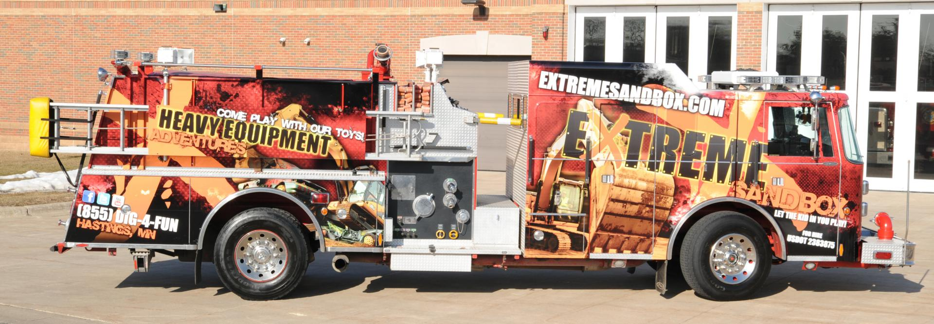 fire truck packages extreme sandboxextreme sandbox